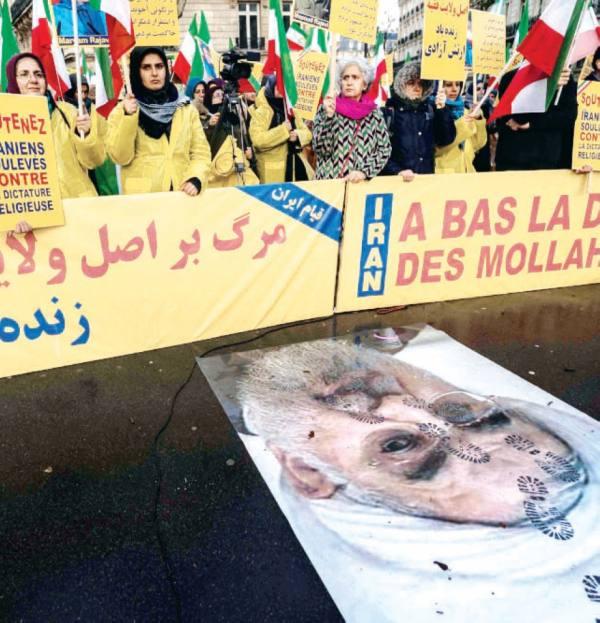 طهران تستعين بـ «حشد» العراق ومرتزقة أفغان لقمع المحتجين