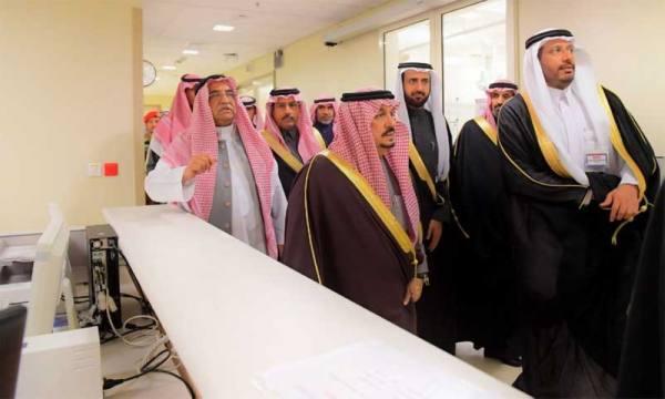 أمير الرياض يفتتح مبنى طوارئ
