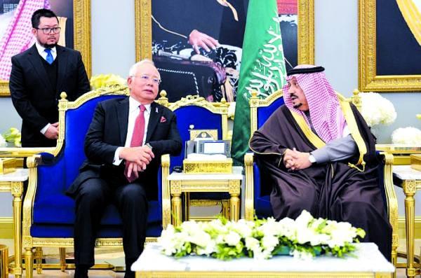 رئيس وزراء ماليزيا يصل إلى الرياض