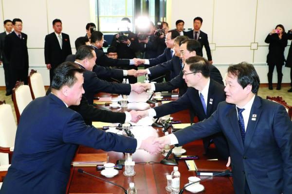مجلس الأمن يرحب بالمحادثات بين الكورييتين