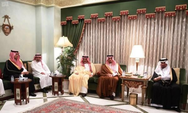 الأمير فيصل بن خالد يستقبل المعزين
