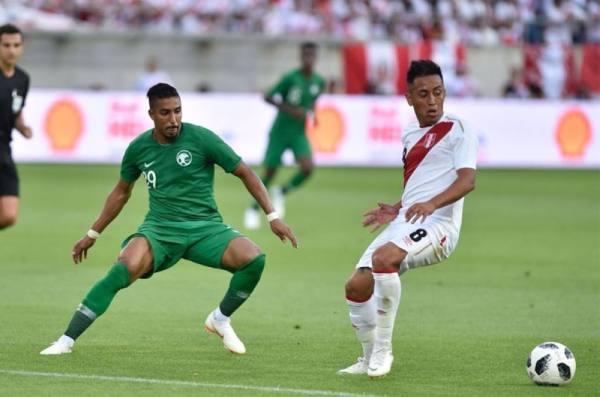 المنتخب السعودي يخسر من البيرو 3- صفر ودياً