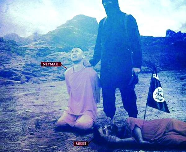 تهديدات داعش للنجوم الكبار تثير القلق