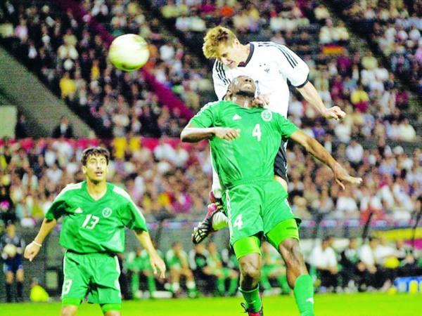 الأخضر التقى ألمانيا مرة واحدة في المونديال عام 2002