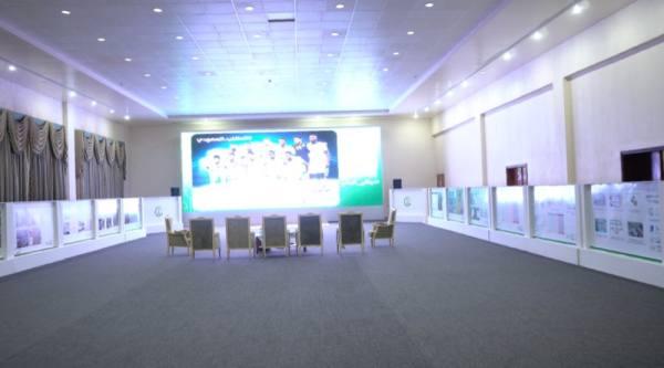 تدشين أكبر شاشة لمتابعة مباريات كأس العالم بالجوف