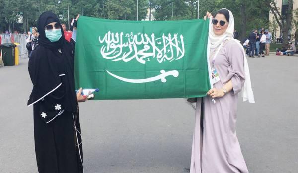 السعوديات في روسيا: تشجيع منتخبنا من المدرجات مدهش