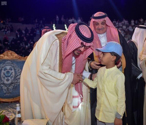 نائب أمير المدينة يفتتح احتفالات