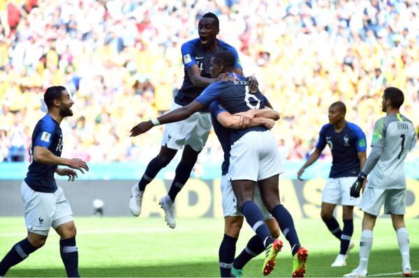 فرحة فرنسية