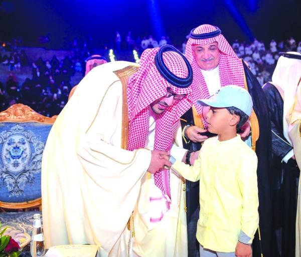 نائب أمير منطقة المدينة المنورة خلال رعايته للحفل