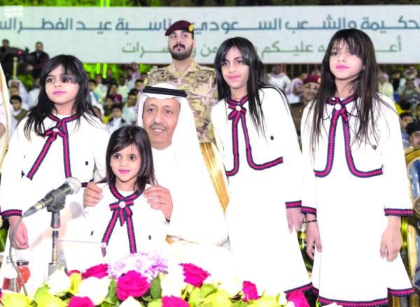 الأمير حسام خلال رعايته حفل الأهالي بمناسبة عيد الفطر