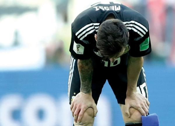 «أرجنتين ميسي» تفشل أمام الجدار الآيسلندي