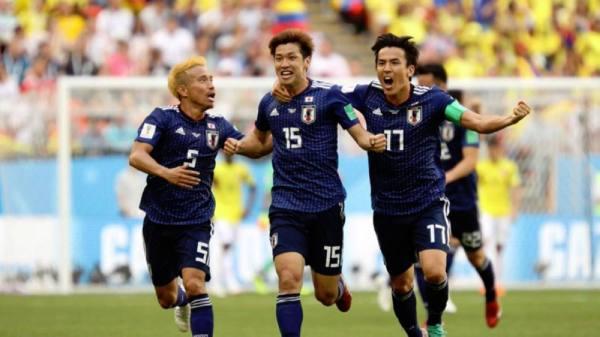 اليابان يفوز على كولومبيا بهدفين مقابل هدف
