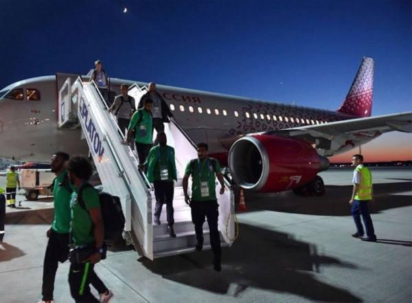 اللجنة المنظمة لكأس العالم تعتذر للاتحاد السعودي عن الخلل الذي ألم بطائرة المنتخب