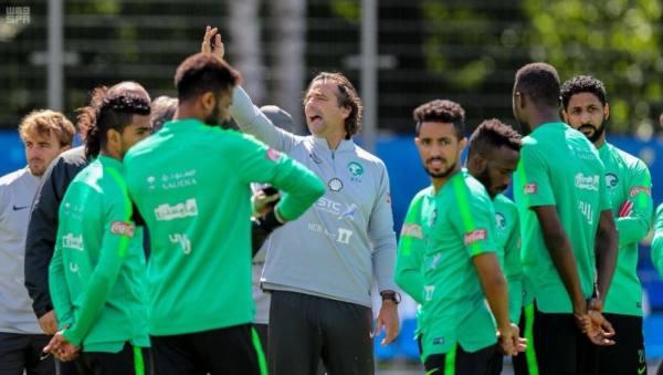 المنتخب السعودي يختتم تدريباته استعدادًا لمواجهة مصر .. الاثنين