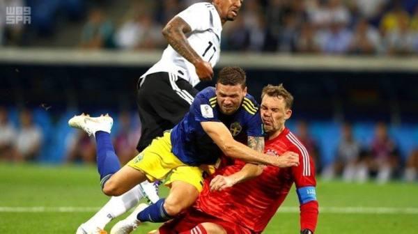 كأس العالم 2018 : منتخب ألمانيا يفوز على السويد بهدفين مقابل هدف