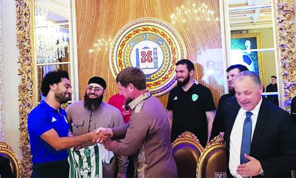 محمد صلاح ينال المواطنة الشيشانية