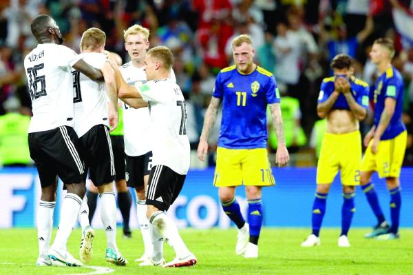 فرحة ألمانية وسط حسرة سويدية