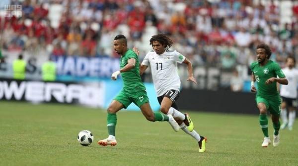 المنتخب السعودي يودع كأس العالم بفوزه على نظيره المصري
