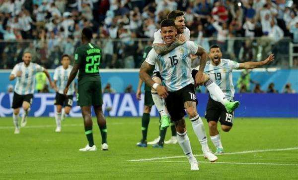 روخو ينقذ الأرجنتين ويقودها لمواجهة فرنسا في دور الـ 16