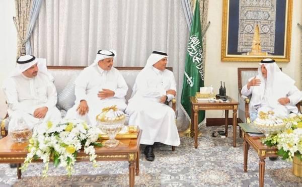 الفيصل يستقبل وزير النقل