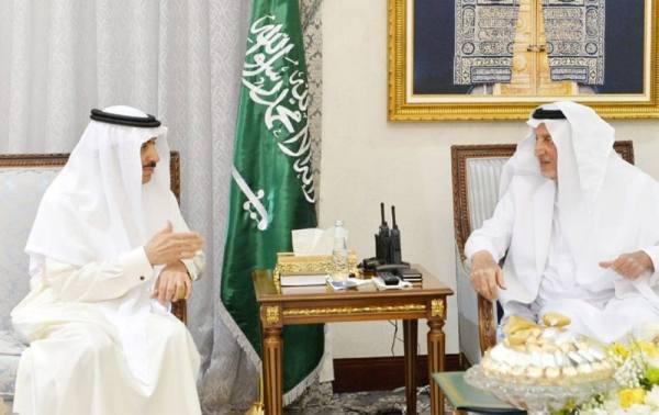 أمير مكة المكرمة يستقبل رئيس مجموعة البنك الإسلامي للتنمية