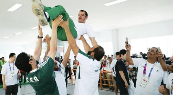 يوم أخضر للرياضة السعودية