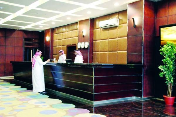 شباب سعودي في القطاع الفندقي