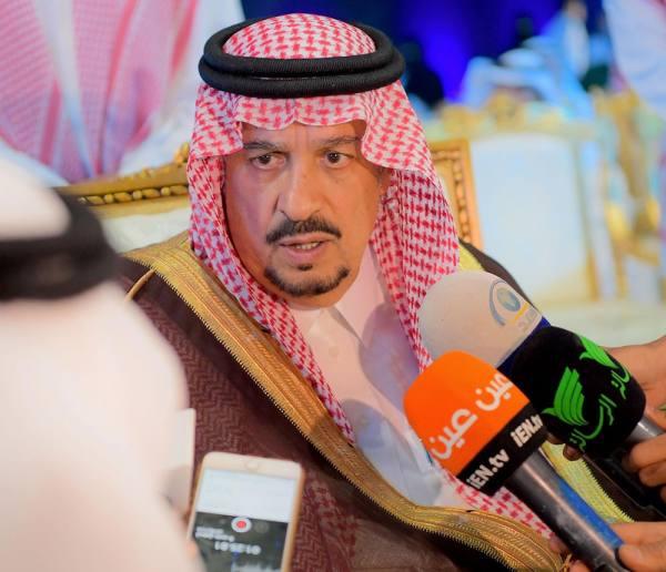 أمير الرياض: نعيش على أرضية صلبة وعطاءات غير محدودة من القيادة الحكيمة