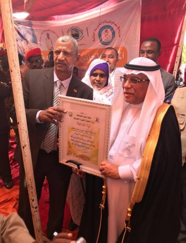سفير المملكة لدى السودان يدشن مخيمًا علاجيًا للعيون بولاية غرب كردفان
