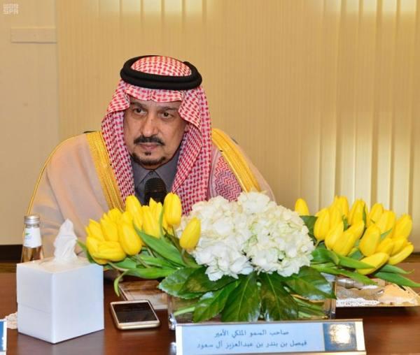 أمير الرياض يتفقد مبنى الفرع النسائي الجديد لمعهد الإدارة العامة