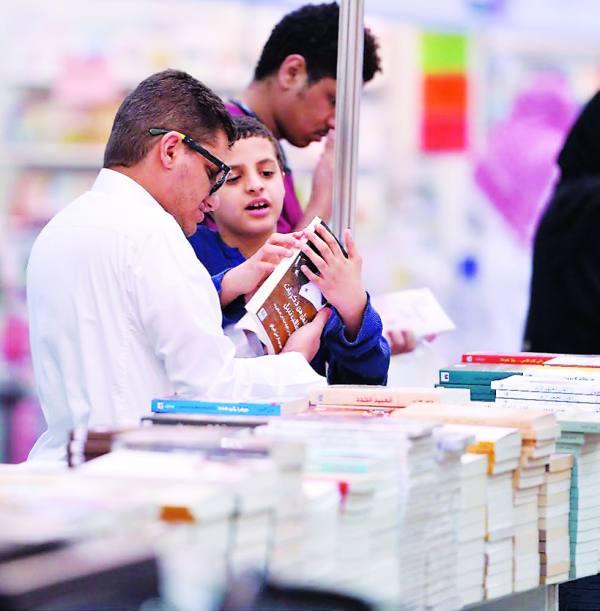 423 ألف عنوان بمعرض الرياض الدولي للكتاب..الأربعاء