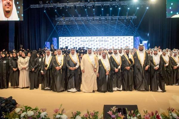 نائب أمير الرياض يرعى حفل الخريجين بجامعة رياض العلم