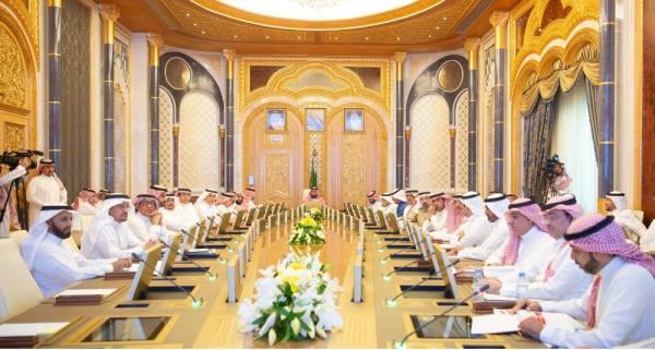 ولي العهد يرأس اجتماع مجلس الشؤون الاقتصادية والتنمية