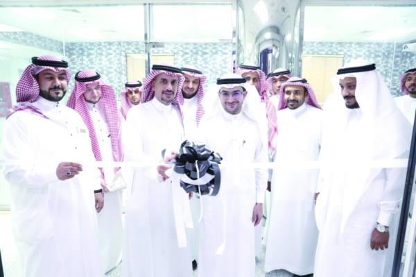 خلال افتتاح مركز التقنيات الناشئة