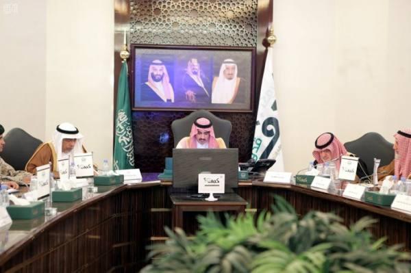 بدر بن سلطان يوجه بلجنة تنفيذية لمتابعة توصيات الدفاع المدني