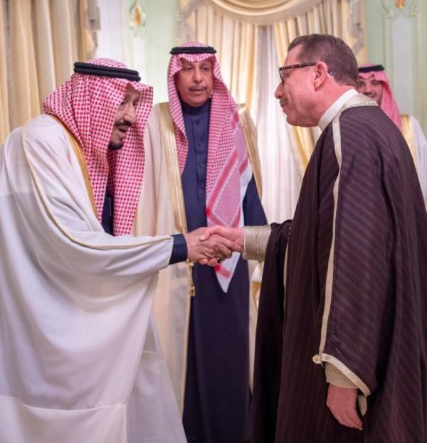 خادم الحرمين يستقبل وزير الشؤون الدينية التونسي ورئيس مجلس نواب الشعب