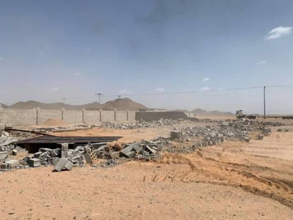 أمانة المدينة المنورة تزيل تعديات بأكثر من 230 ألف متر مربع