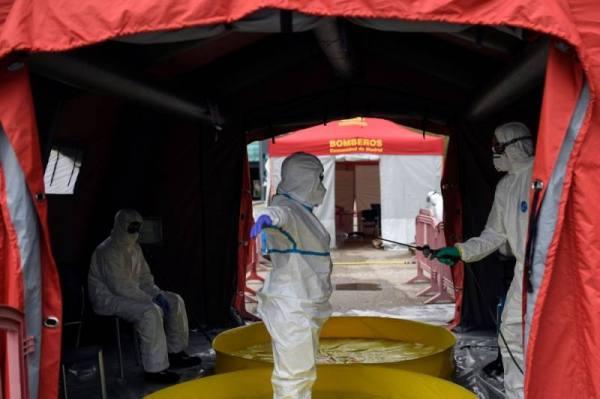 إسبانيا : 399 وفاة جديدة بفيروس كورونا