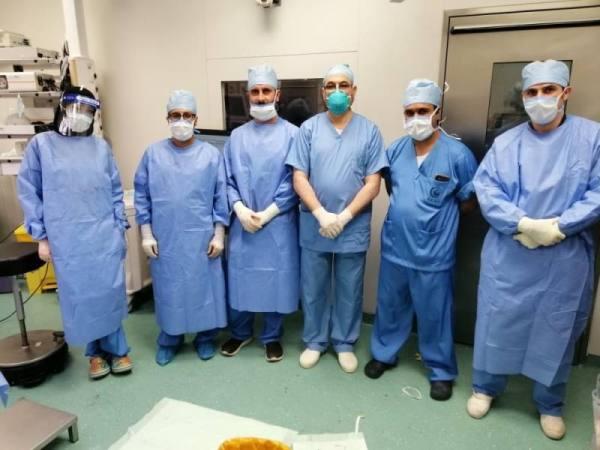 جراحة معقدة تنقذ فتاة من ورم بالبطن في مدينة الملك عبدالله الطبية
