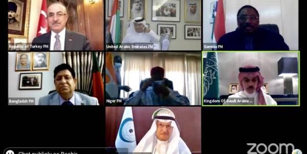 وزير الخارجية يستعرض جهود المملكة الإقليمية والدولية في مواجهة فيروس كورونا