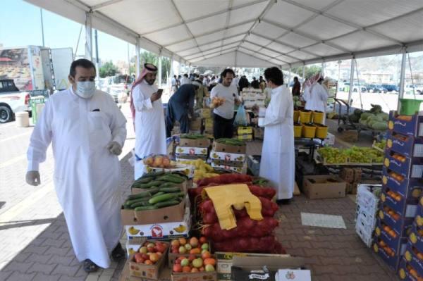 6 أسواق مؤقتة للخضار والفواكه بمكة خلال رمضان