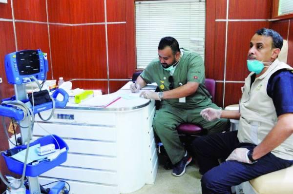 ترصد أعمال الفحص الميداني بنكاسة مكة