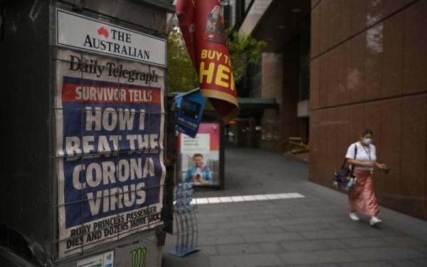 أستراليا : ارتفاع عدد الوفيات بكورونا إلى 89 حالة