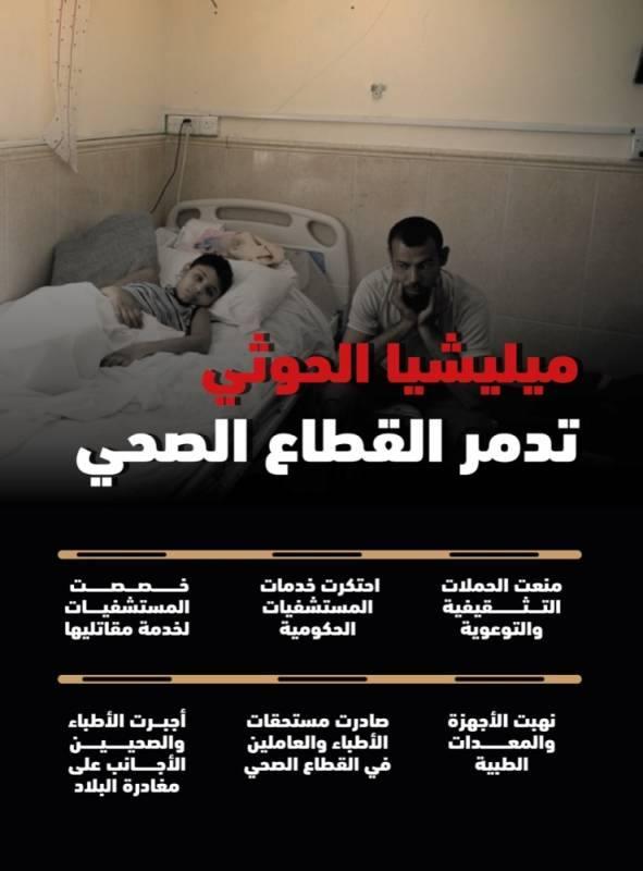 ميليشيا الحوثي تسطو على المستشفيات وتهدد صحة اليمنيين