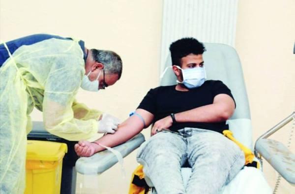 تفاعل كبير مع حملة حطين للتبرع بالدم