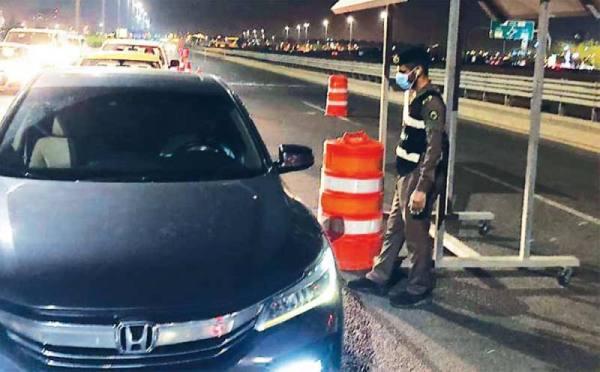 انضباط تام بشوارع جدة خلال ساعات منع التجول