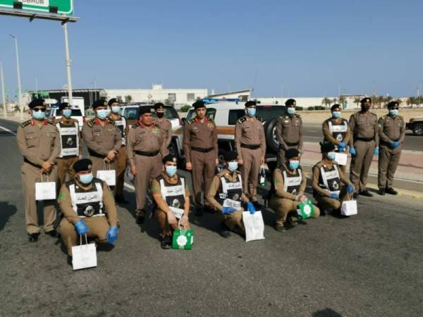 30 ألف هدية معايدة من الفيصل لرجال الأمن والطواقم الطبية بالمنطقة