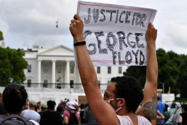 مظاهرات أميركا.. ارتفاع أعداد المحتجين بمحيط البيت الأبيض