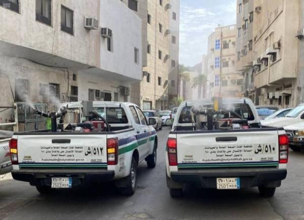 تطهير 55 ألف موقع في مكة المكرمة