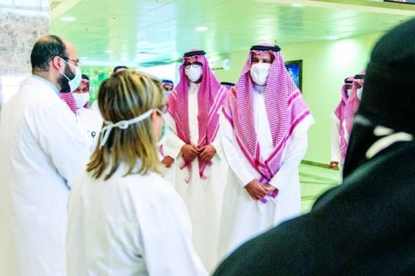 أمير المدينة: القيادة حريصة على تقديم أعلى مستوى من الخدمات الطبية